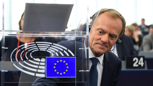 Donald Tusk said progress is needed on the border and divorce bill