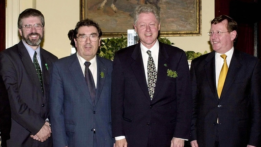 President Bill Clinton Pays Tribute to John Hume