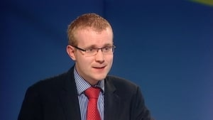 Barry Walsh pictured at a Fine Gael conference in 2009