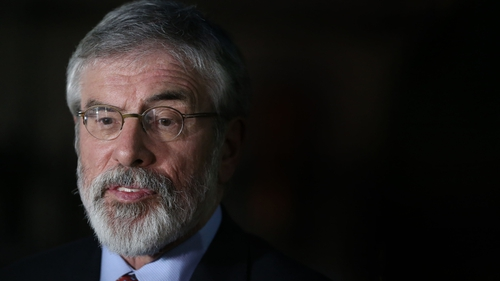 Gerry Adams insists he does not care how he is judged