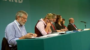 The Sinn Féin Ard Fheis is taking place in Dublin