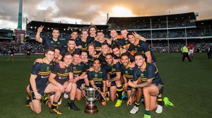 Australia won the Cormac McAnallen Cup in 2017 to make it 10-10 in series history between the two nations