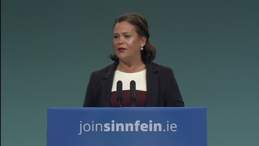 Mary Lou McDonald has 'constructive' meeting with the EU's chief Brexit negotiator in Brussels
