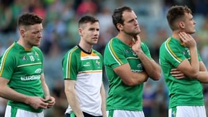 Ireland players were dejected by the result