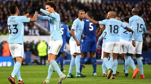 Manchester City were superb against Leicester