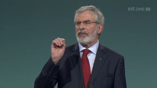 Sinn Fein's Gerry Adams retiring