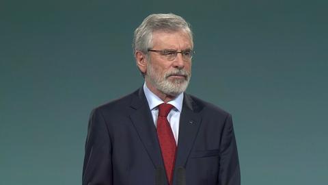 Sinn Féin Ard Fheis: The Leader's Speech