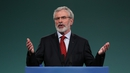 Gerry Adams made the announcement at the party's Ard Fheis this evening
