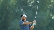 Shane Lowry in action in Dubai