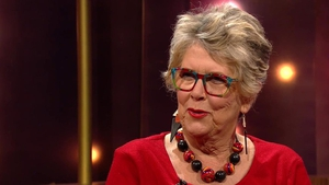 Prue Leith is the expert on the Great British Bake off