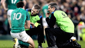 Joey Carbery played well for an hour before going off injured