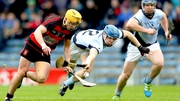 Ballygunner's Conor Power gets past Jermone Boylan and Niall Buckley of Na Piarsaigh
