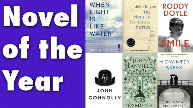 The Bord Gais Energy Book Awards - and the nominees are
