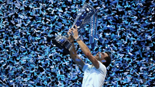 Goffin ousts Federer in ATP Finals semis
