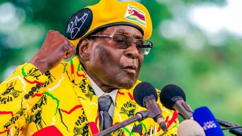 Mugabe to blame for 'economic tailspin' - ZANU-PF | RTÉ News