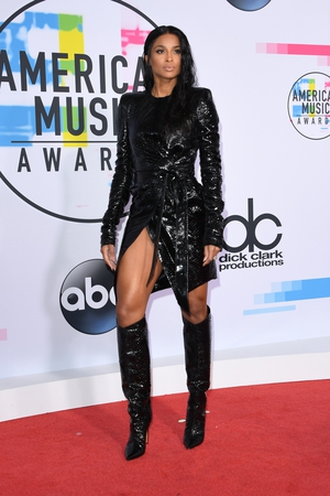 Ciara went hell for leather in this Alexandre Vauthier number.