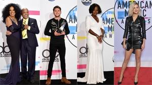 American Music Awards 2017: Red Carpet Fashion