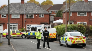 File photo of police at the scene in Hamstead, Birmingham, after the two children died