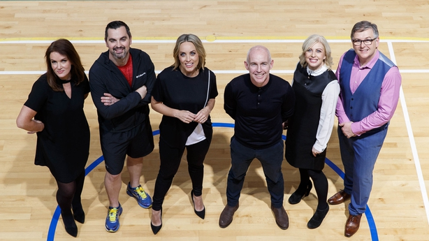 The OT experts are fitness leader Karl Henry, dietitian Aoife Hearne, GP Dr Ciara Kelly and a Principal Clinical Psychologist Dr Eddie Murphy.