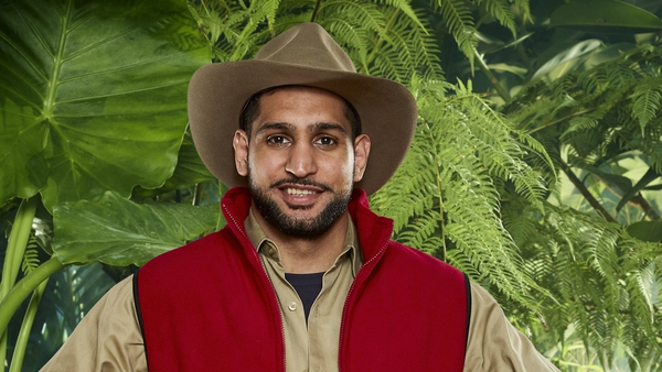 Amir Khan screamed and shouted his way through Bushtucker Trial