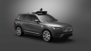 Uber has been testing prototype Volvo cars for more than a year