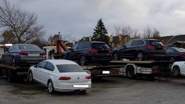 Most second-hand cars being brought into Ireland are between three and five years old.