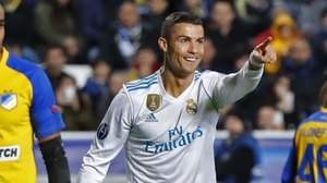 Ronaldo takes his overall Champions League scoring record to 113