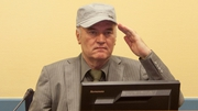 Ratko Mladic is accused of ordering the massacre of 8,000 Muslim men and boys at Srebrenica