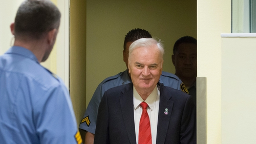 Ratko Mladic was sentenced to life imprisonment in November