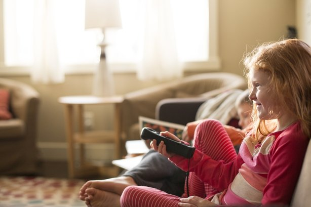 TV schedulers have to ensure that content is suitable for every child watching
