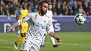 Dani Carvajal's booking would have seen him miss Madrid's final group game