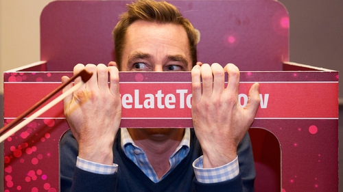 Tubridy: keeping it all under wraps
