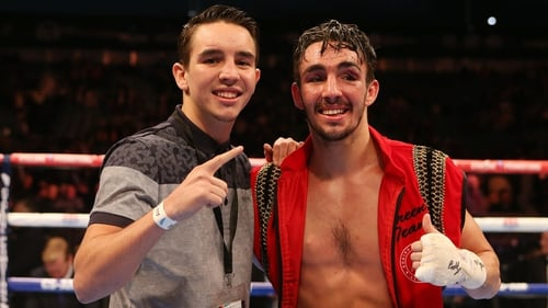 Michael (L) and Jamie Conlan pictured together in 2014
