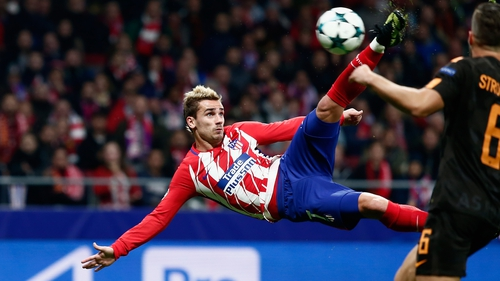 Antoine Griezmann scored a stunning goal for Atletico
