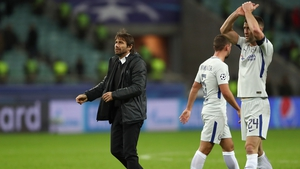 Antonio Conte's players stayed on GMT while in Azerbaijan