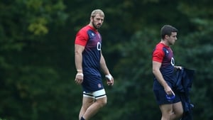 Chris Robshaw (L) and George Ford will lead a much changed England