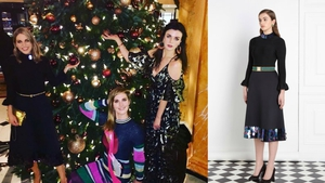 Get the Look: Amy, Aisling & Ruth's Party Dresses