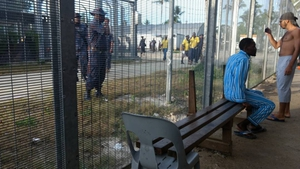 The detention camp has been criticised by the UN and human rights groups