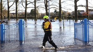 "Floods in Mountmellick, Co Laois in November 2017: ""How much are we responsible for having more frequent heatwaves or heavier rainfall?"""