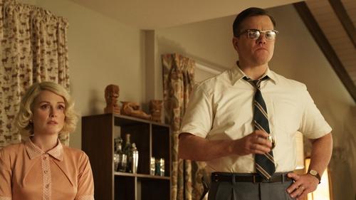 Jullianne Moore and Matt Damon: creepy and conniving