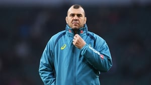 Michael Cheika apologised for his in-game outburst during England-Australia at Twickenham on Saturday