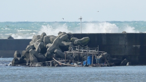 It is the latest in a series of fishing boats washing ashore in Japan in recent weeks