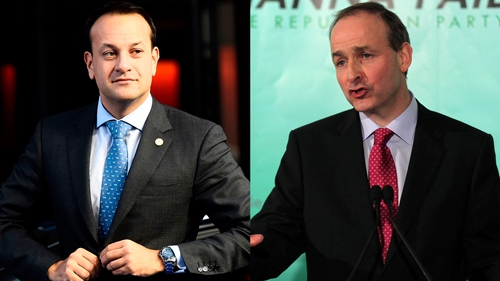 Fine Gael and Fianna Fáil are scheduled to meet tomorrow to discuss the Budget