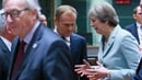 Theresa May wants to move on to Brexit trade talks
