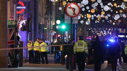 Armed police raced to Oxford Circus Tube station and Oxford Street after receiving 999 calls reporting that shots had been fired