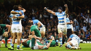 Devastation - Ireland were heavily beaten by Argentina in 2015