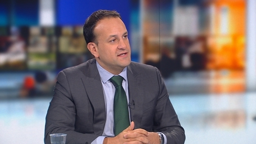 Leo Varadkar said he will not be rushed to dissolve the Dáil