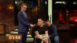 Keith Barry's 100 Foot Rope Escape | The Late Late Show