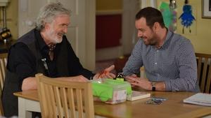Mick befriends new EastEnders villain Aidan