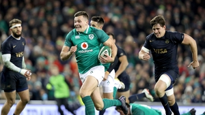 Jacob Stockdale is hoping his try-scoring smile returns on Saturday